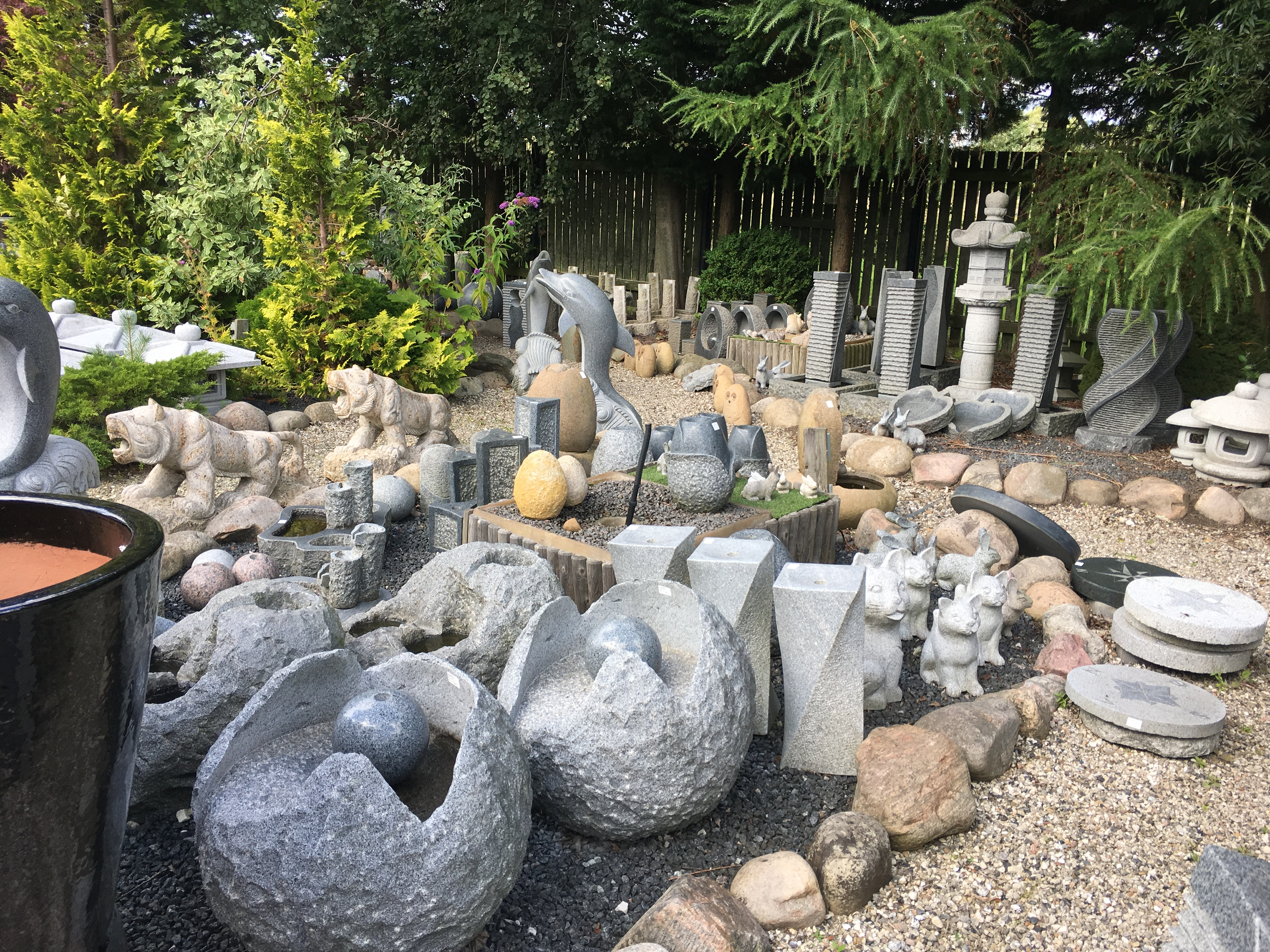 Granit til haven